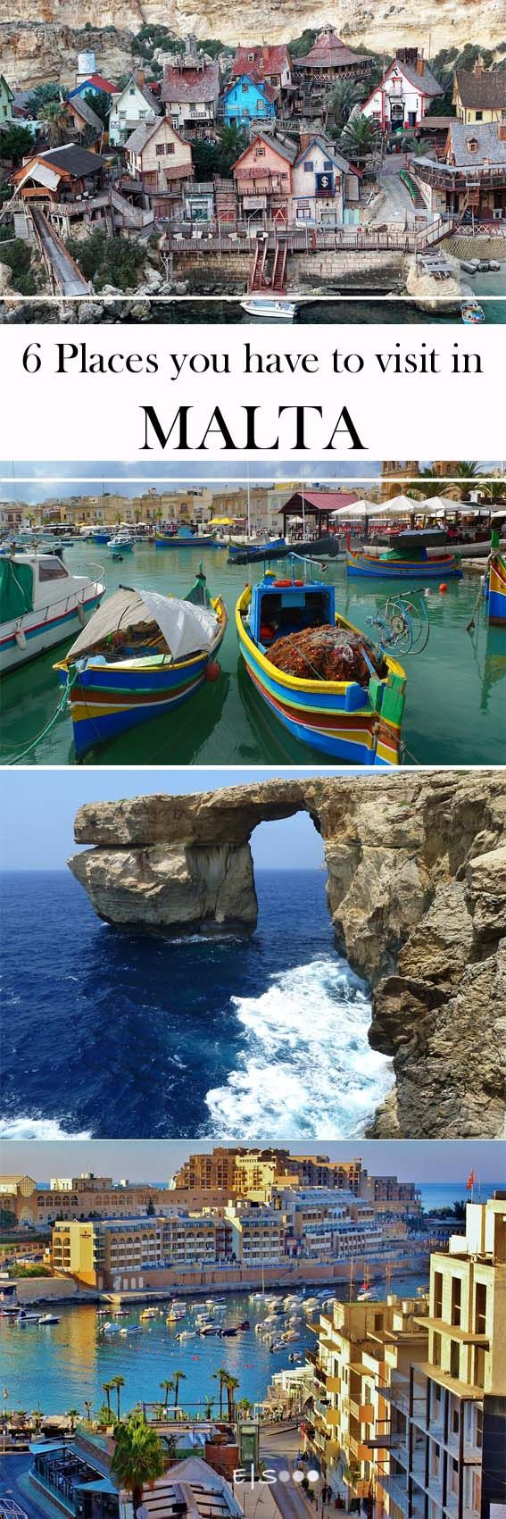 6 Places you have to visit in #malta
