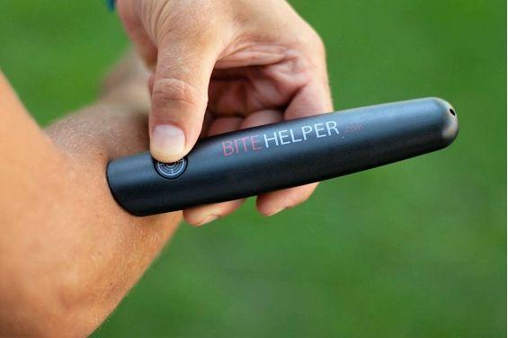 Bute Helper utilise la technologie Thermo-Pulse pour apaiser et neutraliser sans produits chimiques toutes les démangeaisons causées par des insectes.