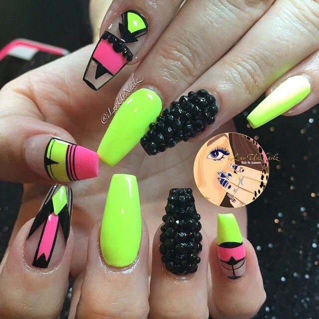 191 best Uñas images on Pinterest | Nail art, Nail scissors and ...