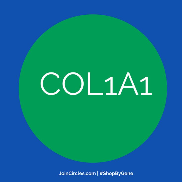 #COL1A1 #gene instructs type I #collagen to strengthen and support tissues in the body, including #cartilage, #bone, #tendon, #skin, and the white part of the eye. Type I collagen is the most abundant form of collagen in the human body.