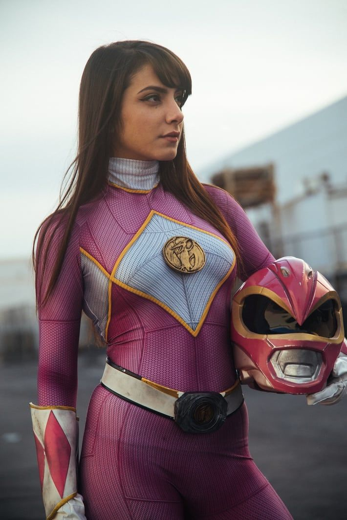Go Go Cosplay Closet! Check Out This Fierce Pink Power Ranger Cosplay