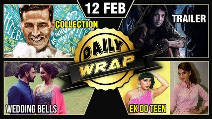 Deepika Padukone Ranveer Singh Padman Collection Grab Headlines Weekly Wrap | Top 10 | موفيز هوم  Ranveer Singh Deepika Padukone affaiir officialPadman Collections Taimur Ali Khan Yash Johar Jacqueline Fernandez Ek Do teen Pari official trailer make it in the top 10 news of the day 12th February 2018. Bollywood Now brings to you Daily Wrap. .  Reporter: Abhishek Halder Editor: Rupesh Shinde.