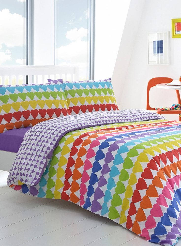 Rainbow Cheetah Bedding Full Bed