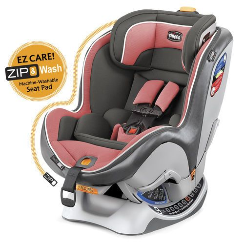 The NextFit® is the easiest convertible car seat to install, and the easiest-to-care-for convertible car seat with a pad that zips out from shell for convenient machine washing.