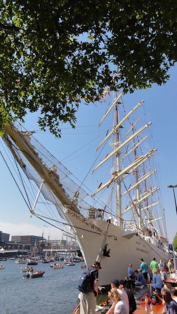 Sail 2015, Oostelijk Havengebied, Amsterdam, Nederland.