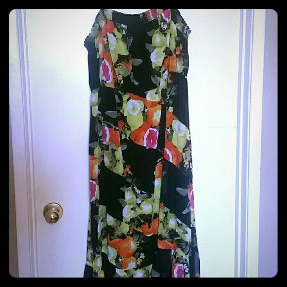 Summery Dress Cute summer dress, long, sheer Lane Bryant Dresses Maxi