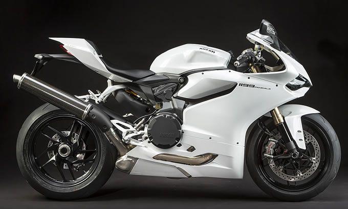 "DUCATI MODELS 2013 Superbike 1199 Panigale ""Arctic White"""