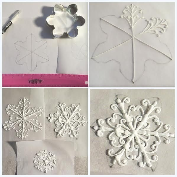 Snow flake tutourial