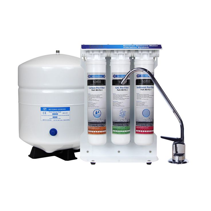 boann 5stage reverse osmosis water filter system with quicktwist filters 1