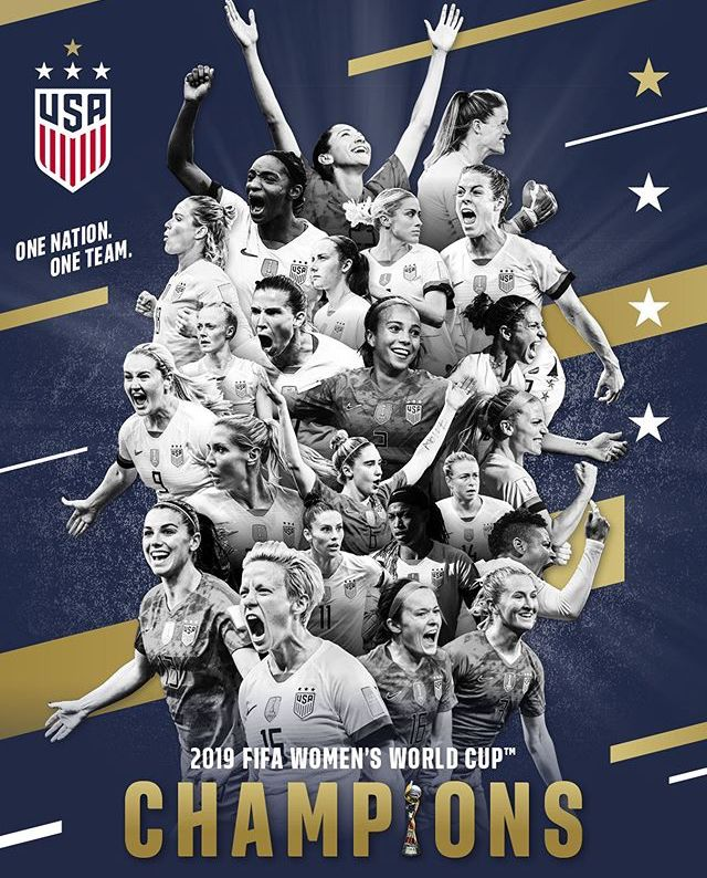 Pin By Natalie Orlik On Uswnt With Images Uswnt World Cup Champions Fifa Women S World Cup