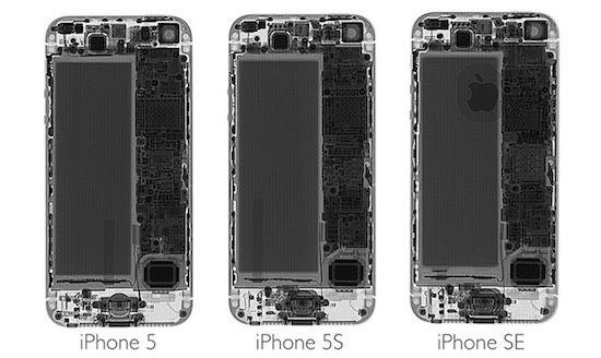 nice Teardown: zo erg lijkt de iPhone SE op de 5s