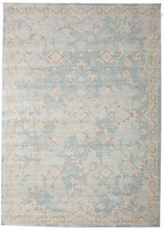 Riviera - Blauw tapijt 250x350