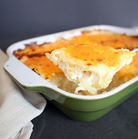 Classic Scalloped Potatoes, a recipe from ATCO Blue Flame Kitchen.