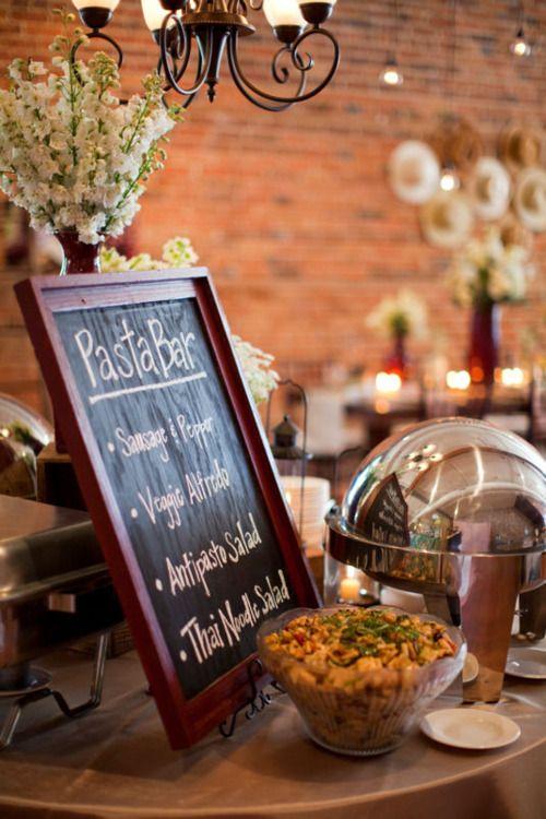pasta bar: Antipasto Tray, Buffet Style, Pasta Bar Menu, Brick, Italian Pasta, Bar Chalkboards, Chalkboards Menu, Bar Signs, Cooking Pasta