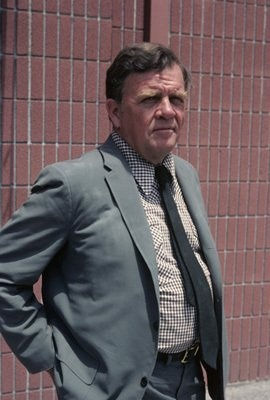 Pat Hingle (1924-2009)is probably best known in recent times for playing Commissioner Gordon[3] in the 1989 film Batman, and its three sequels. Hingle had a long list of television and movie credits to his name, going back to 1948. Among them are Hang 'Em High (1968), Sudden Impact (1983), Road To Redemption (2001), When You Comin' Back, Red Ryder? (1979), Brewster's Millions (1985), Stephen King's Maximum Overdrive (1986), The Grifters (1990), Citizen Cohn (1992).