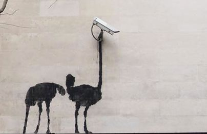 bansky - they really can see you!