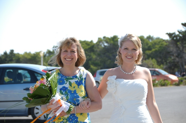 Bride and Mother of the Bride.