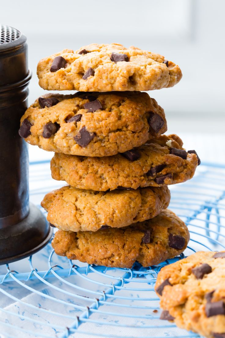 Peanut butter cookies are a classic. These ones are made with spelt flour for some extra flavour.