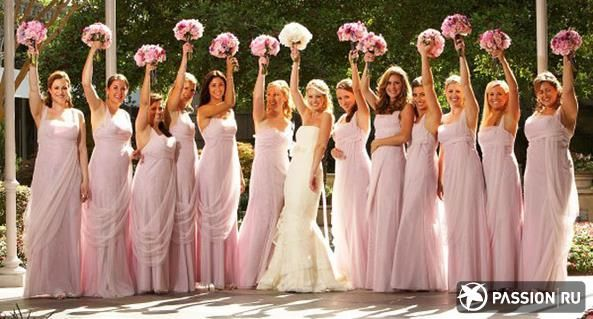 Платье подруг невесты