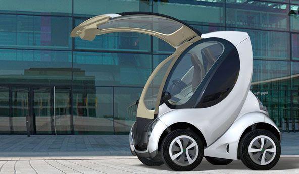 Aus dem Baskenland: Hiriko – Konzept für faltbares Elektroauto