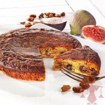 Beautiful Ein sehr feiner und unglaublich saftiger Kuchen auf Mandelbasis mit Feigen und Rosinen Jetzt unter