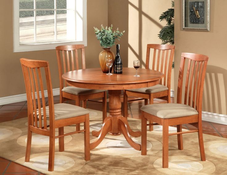 Small Round Table And Chairs For Kitchen | Winda 7 Furniture