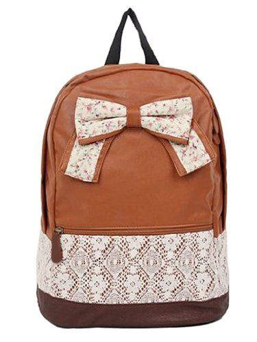 New Fashion Trendy Cute Korean Lace College Style Floral Print Leisure School Bag Outdoor Backpack for Teens Students Women Ladies Girls Brown Winwinzone,http://www.amazon.com/dp/B00HWLS2EG/ref=cm_sw_r_pi_dp_NMg3sb12V6X2K04N