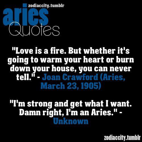 Aries Quotes. QuotesGram by @quotesgram