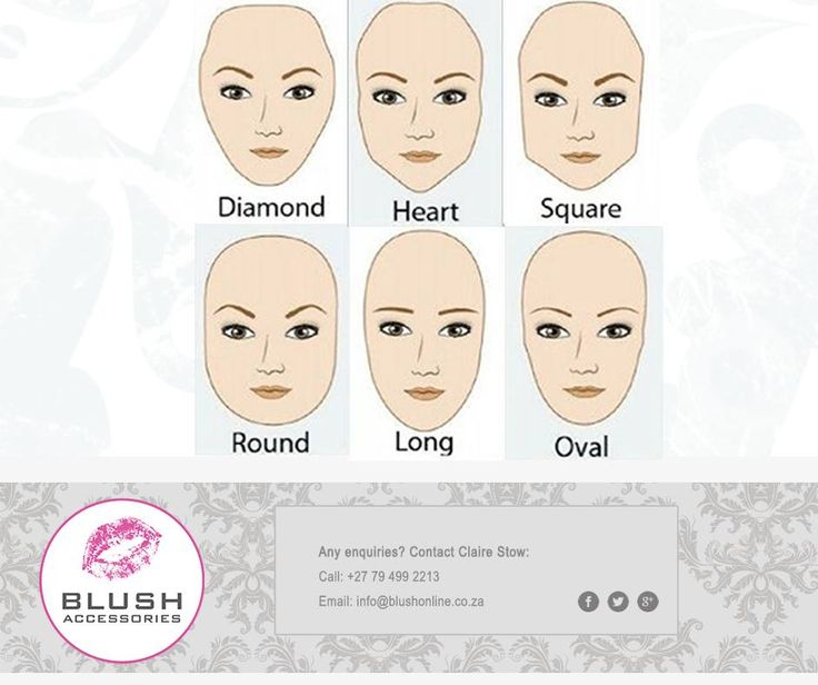 Eyebrows can be our best or worst facial feature depending on whether it compliments the shape of our faces. Take a look below and find out which style fits your face best! #Blush #beautytip #makeup