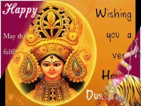 Dussehra (Vijaya Dashami, Dasara, or Dashain) is a Hindu festival that celebrates the victory of good over evil. It is a gazetted holiday in India, which is marked on the 10th day of the bright half (Shukla Paksha) of the month of Ashvin (Ashwayuja), according to the Hindu calendar. Wish You All A Very Happy Dasara From goosedeals.com  Visit: http://www.goosedeals.com/