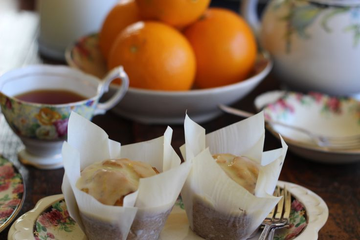 Orange and Chia Seed Muffins
