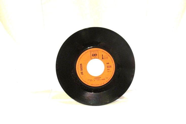 "Joe Dassin L""Amerique CVS 45 RPM 5006 France Chanson 1970 #1970sChanson"