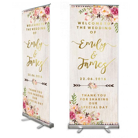 White Wood Floral Wedding Welcome 6ft Banner Wedding Welcome Sign Shabby Chic Wedding Wedding Wedding Welcome Signs Wedding Checklist Budget Wedding Welcome
