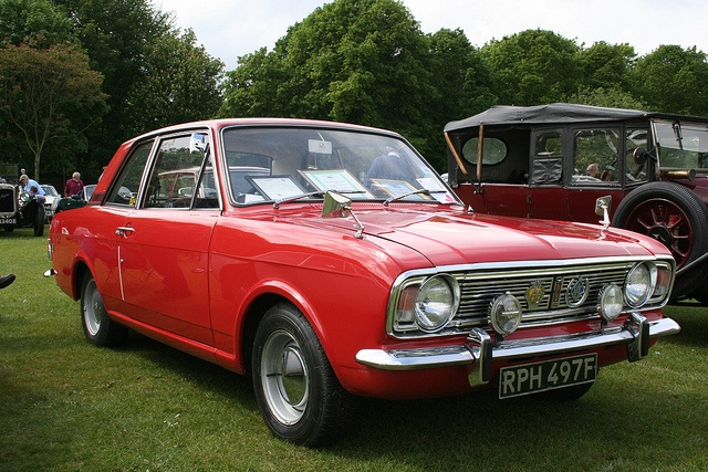 After having my mini stolen I bought a 1966 1500GT Cortina - car number 2