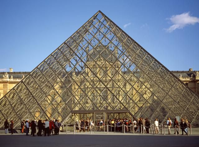 17 best images about mimar ieoh ming pei architect - Louvre architekt ...