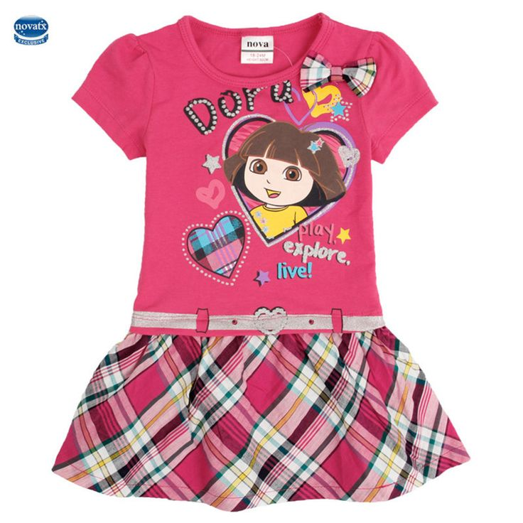 fashion girls party princess baby girl dresses child bowknot