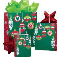 """Cadeaux Tendance - Kit 50 emballages-cadeaux modèle """"Ornements"""" format PETIT"""