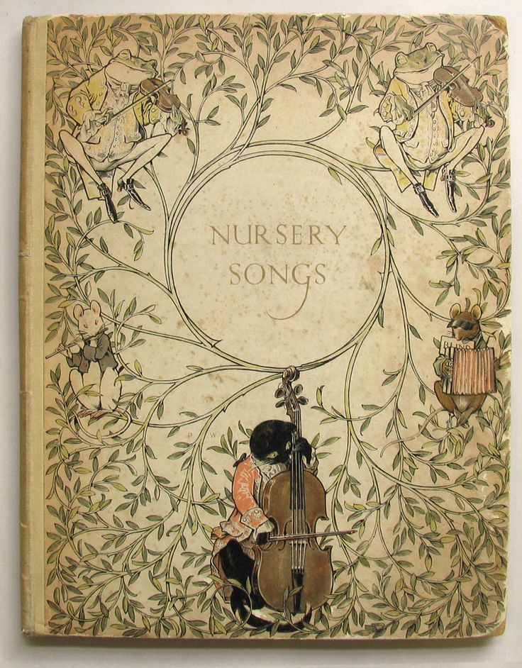 WOODROFFE, Paul illustrator: MOORAT, Joseph., THIRTY OLD-TIME NURSERY SONGS.