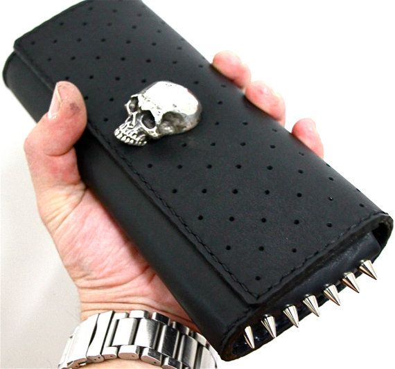 the night rider clutch.....leather never felt so by HARDapparel, $500.00
