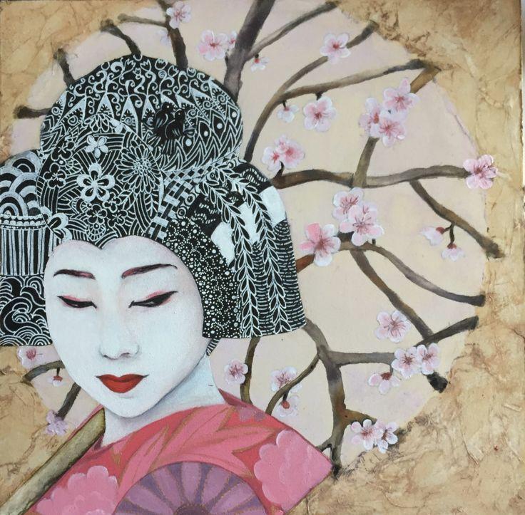 Geisha Girl «  Wine Fairies