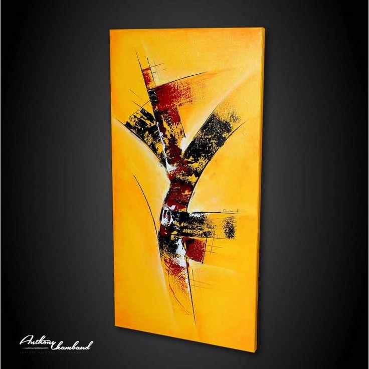 Extraordinaire 172 best Peinture abstraite, Artiste peintre Anthony Chambaud  XX63
