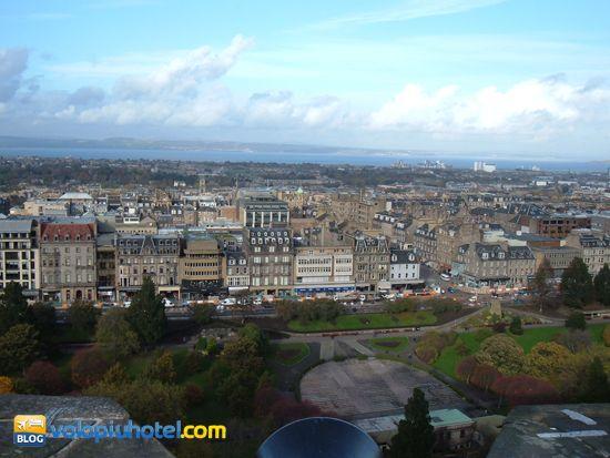 Panorama dal Casterllo di Edimburgo
