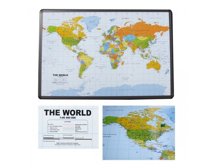 Best World Map Images On Pinterest Wall Maps Corks And - Us wall maps for sale