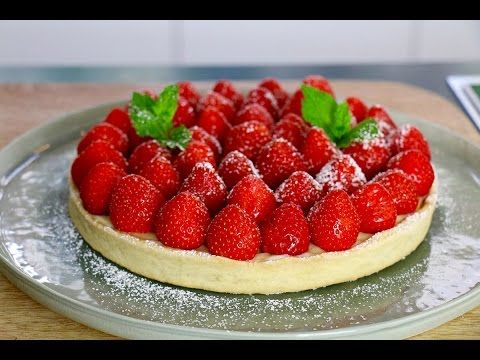 Tarte aux fraises facile en 3 étapes - HerveCuisine.com