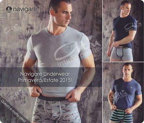 Completini Intimo Uomo per Navigare. la nuova collezione. #intimo #navigare #uomo http://www.atyintimoonline.it/69-coordinati-moda-intimo-uomo