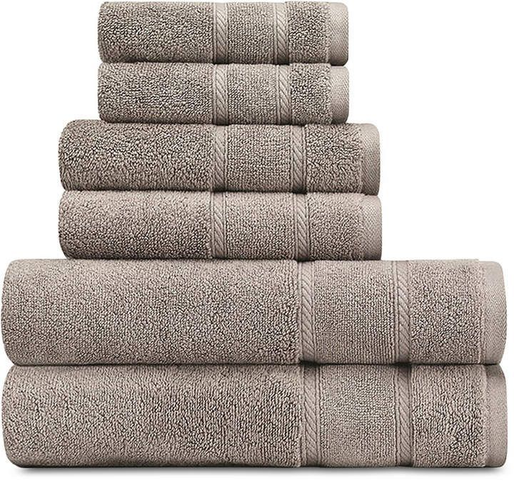 Nautica Belle Haven Cotton 6 Pc Towel Set Reviews Bath Towels