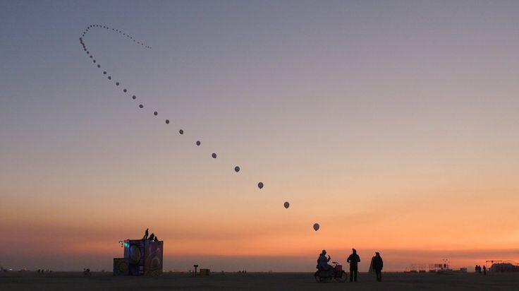 Balloon Chain by Robert Bose and Michael Cha (2012)