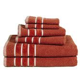 Found it at Wayfair - Egyptian Cotton Towel Set want the navy ones!