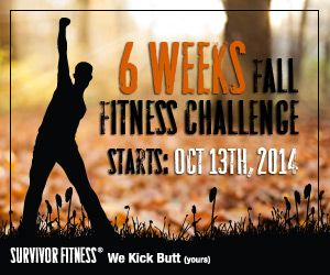 2014 Fall Fitness Challenge Starts October 13th, 2014