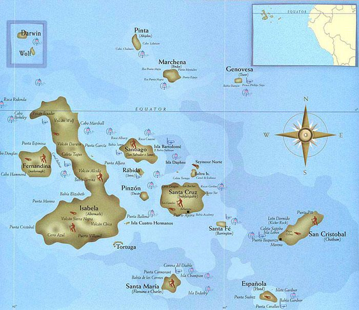Where Are The Galapagos Islands Located Galapagos Islands